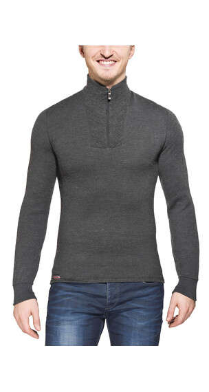 Woolpower Zip Turtleneck 200 grey
